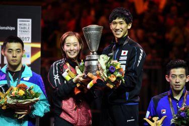 世界卓球、日本代表団は5つのメ...