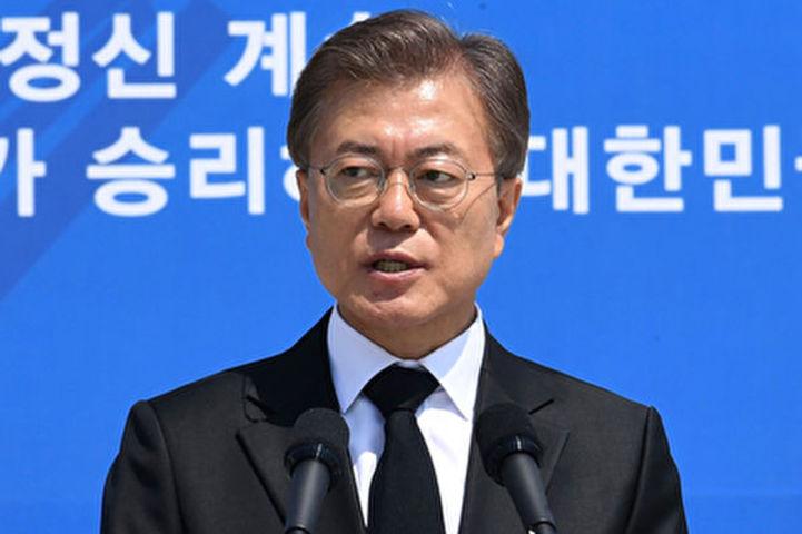 韓国の文在寅大統領(Getty Images)