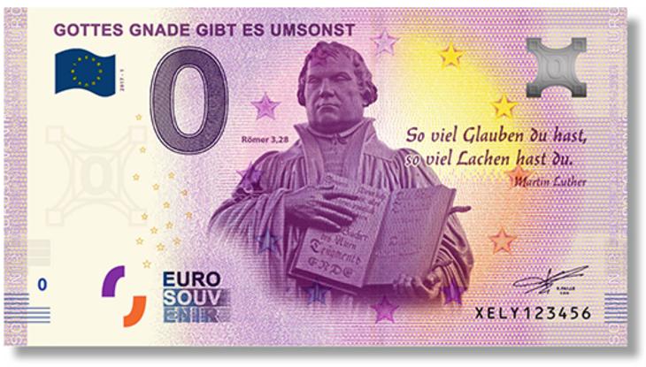 ニセ札じゃないよ!0ユーロ紙幣を中央銀行が発行(gott.netスクリーンショット)