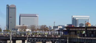 千葉県印西市の千葉ニュータウン中央駅周辺(Unaaari/wikipedia)