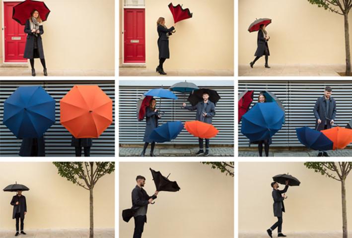 逆開きの傘・カズブレラ(KAZbrella)(株式会社LinKage)