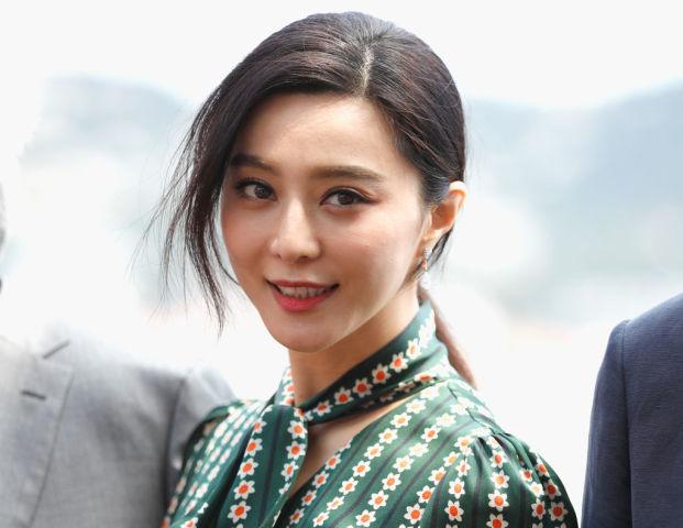 5月、仏カンヌで開かれた第70回カンヌ映画祭に出席した女優・範冰冰(ファン・ビンビン)(Andreas Rentz/Getty Images)