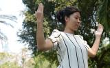 気功愛好者(LILLIAN SUWANRUMPHA/AFP/Getty Images)