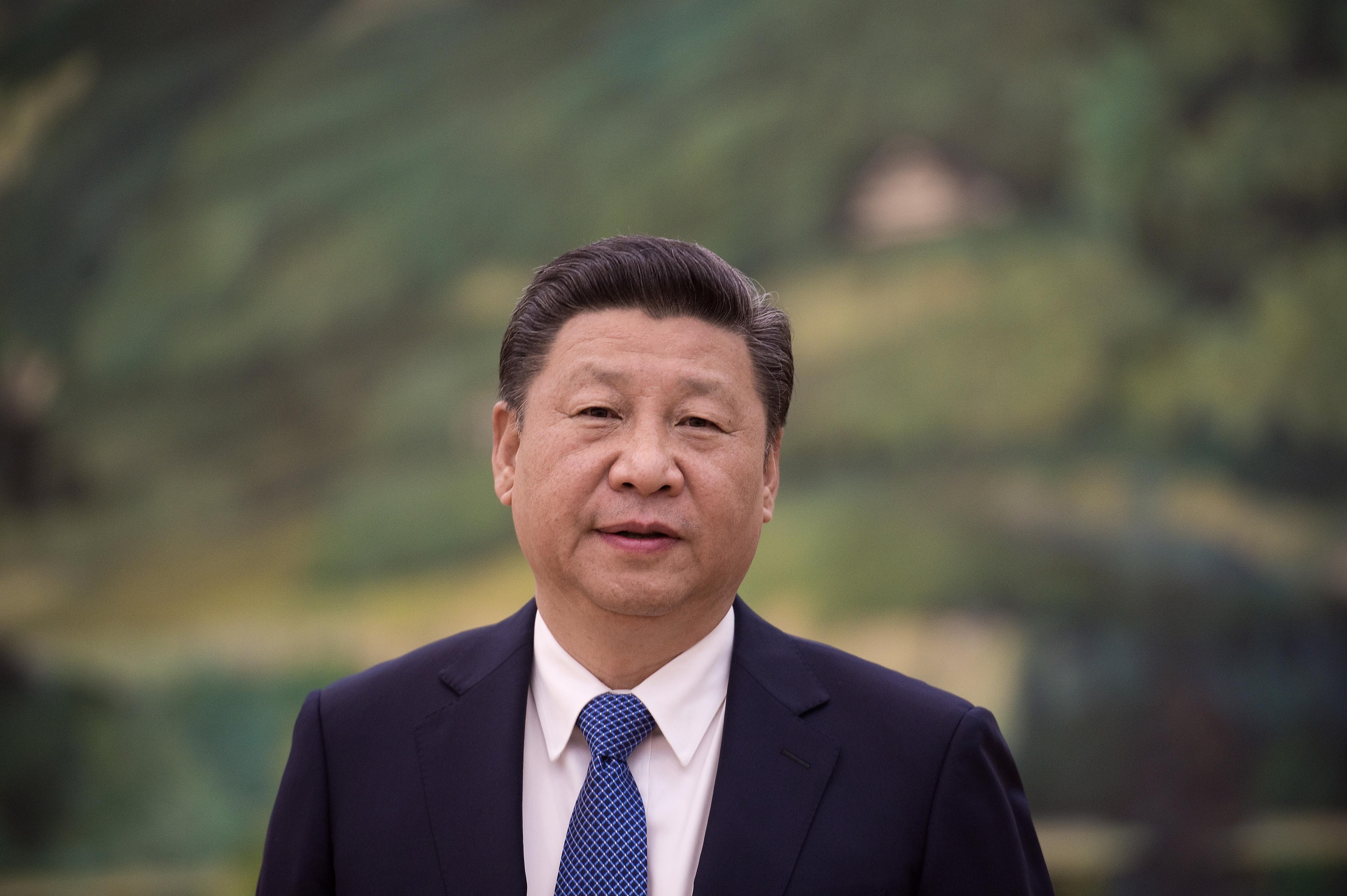 陳敏爾の重慶市トップ就任は習近平主席が2年前から計画していた。(Pool/Getty Image)