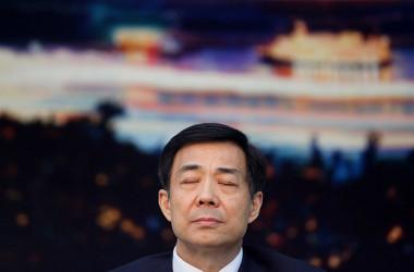 2012年に失脚した重慶市トップの薄熙来。5年後同市トップまたもや失脚した。(Photo by Feng Li/Getty Images)