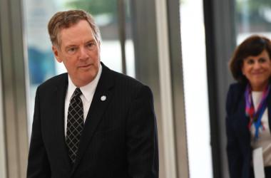 5月、ハノイで開かれたAPECに参加した米通商代表ロバート・ライトハイザー氏(AFP/Getty Images)
