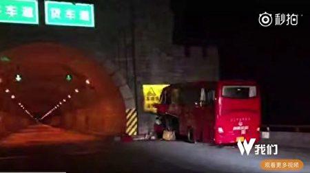 中国陝西省で10日、36人死亡した高速バス事故があった。事故原因は設計ミスの可能性が高い。(ネット写真)