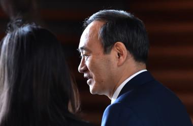 菅義偉・内閣官房長官(KAZUHIRO NOGI/AFP/Getty Images)