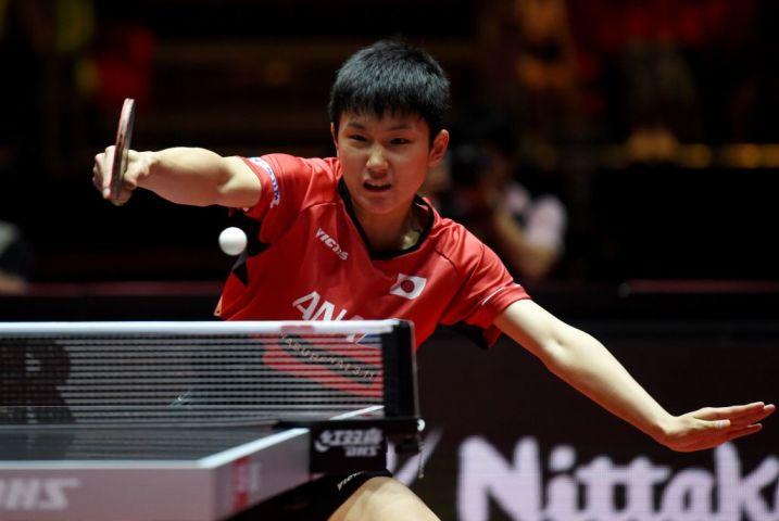 張本智和、14歳61日で史上最年少優勝