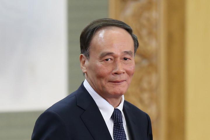 中央紀律検査委員会主任王岐山氏 (Feng Li/Getty Images)