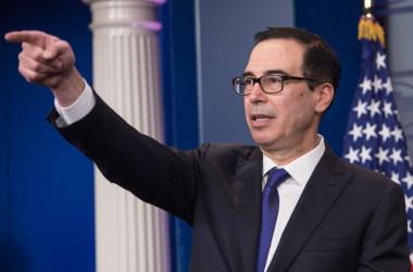 国連決議違反の場合、中国当局に経済制裁=米財務長官(NICHOLAS KAMM/AFP/Getty Images)