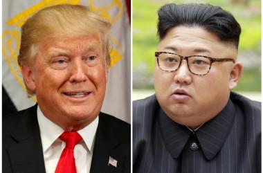 9月22日 米政権当局者は、北朝鮮が水爆実験の実施を示唆したことについて、実際に強行すれば1つの分水嶺になるとの認識を示し、現時点ではそれほど信用するべきではないとしながらも、米国はこうした脅しを深刻に受け止めていると述べた(2017年 ロイター/Kevin Lamarque)
