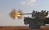 高射砲による処刑は金正恩委員長が最も気に入っているという。(NAZEER AL-KHATIB/AFP/Getty Images)
