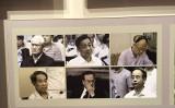 習氏主席就任5周年の宣伝キャンペーンで孫政才氏の写真は周永康、令計画ら「大トラ」の写真と並べられた。(ネット写真)