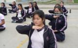 ペルーの女子中学校で中国伝統気功法・法輪功の練習が取り入れられた(明慧ネット)