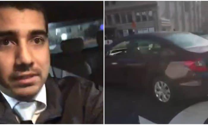 児童買春を食い止め、女の子を救った運転手。現場を映した動画がフェイスブックを通じて拡散している(NTD Inspired)