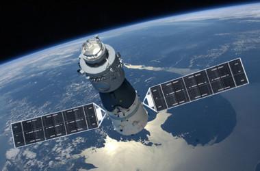 天宮1号のイメージ(中国有人宇宙プロジェクト弁公室)