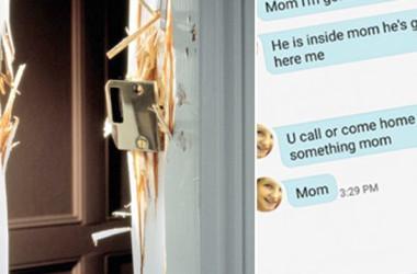 侵入者は白昼堂々とドアノブを壊して家に入ってきた(NTD Inspired)