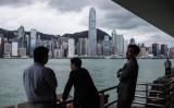 香港の中心治(DALE DE LA REY/AFP/Getty Images)