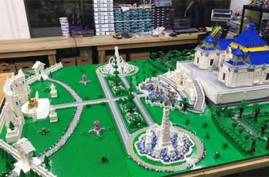 6カ月と500万円かけて…破壊された清代の離宮、レゴで再現(weibo)