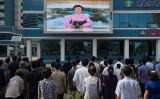 中国当局と北朝鮮の金正恩政権との関係が冷え込んでいる。(KIM WON-JIN/AFP/Getty Images)