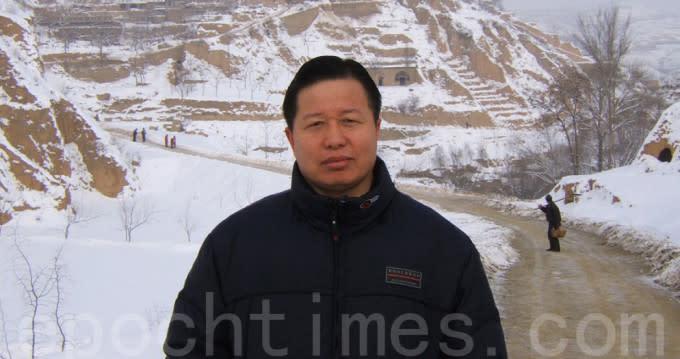 中国の人権弁護士高智晟氏。(大紀元資料室)