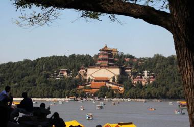 その歴史は12世紀にまでさかのぼる史跡・頤和園にこのたび、中国共産党宣伝事務所が設置される(VCG/Getty Images)