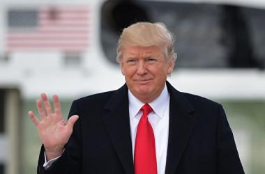 トランプ米大統領は20日、ホワイトハウスで北朝鮮を「テロ支援国家」に再指定したと発表した。(MANDEL NGAN/AFP/Getty Images)