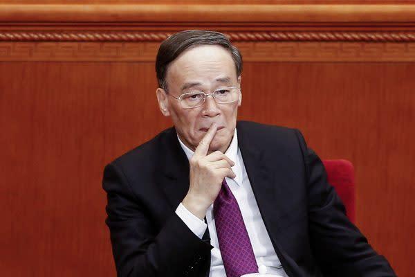 反腐敗は継続すべきとする王岐山前中規委トップ。 (Getty Images)