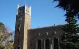 早稲田大学にそびえ立つ大隈講堂。(大紀元資料室)
