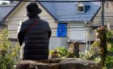 10月31日、座間9人殺害事件で犯人の住居だったアパート(TORU YAMANAKA/AFP/Getty Images)