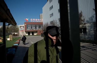 北京市朝陽区にある私立幼稚園・紅黄藍幼稚園で、一部の保護者は園児らが虐待と性的暴行を訴えた。(NICOLAS ASFOURI/AFP/Getty Images)