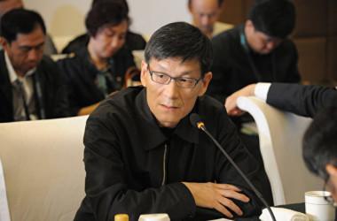 中国の朱鎔基・元首相の息子で、中国国際金融有限公司(CICC)前CEOの朱雲来氏。(大紀元資料室)
