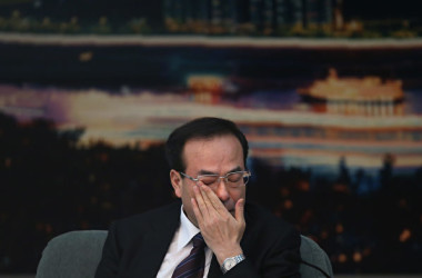 7月に失脚した前重慶市委書記・孫政才氏。(Feng Li/Getty Images)