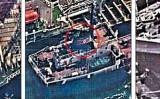 米財務省は11月21日、中国に近い黄海の公海上で、数百〜数千トン規模で北朝鮮と中国舶が石油と推定される貨物を交易する場面を偵察衛星で捕捉、証拠写真を公開した。10月に撮影された写真には、北朝鮮の国旗とハングルで書かれた船名(レソンガン1)が鮮明に示され、北朝鮮の船舶であることが分かる(米国財務省)