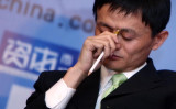 米政府は、中国電子商取引最大手アリババ傘下のアント・フィナンシャルによる米金融企業の買収を認めない方針を示した。写真はアリババ創業者の馬雲氏。(China Photos/Getty Images)
