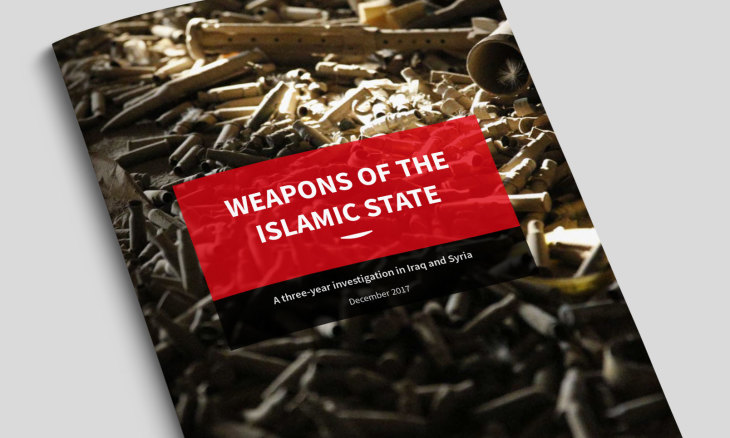 過激派組織ISの武器に関する調査報告書「WEAPONS OF THE ISLAMIC STATE」(Conflict Armament Research)