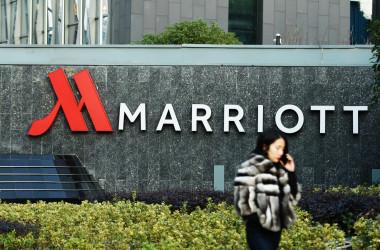 中国浙江省にあるマリオットホテル。(AFP/Getty Images)