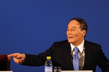 中国の王岐山国家副主席はこのほど、党中央外事工作委員会委員に就任した(Getty Images)