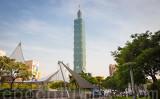 台北市名物超高層ビル「台北101」。(大紀元資料室)