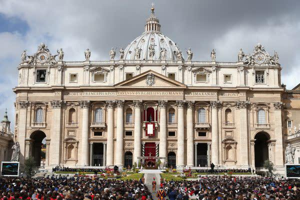 バチカンのサン・ピエトロ大聖堂。(Dan Kitwood/Getty Images)