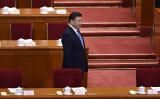 昨年10月開催した党大会に出席した習近平国家主席。(WANG ZHAO/AFP/Getty Images)
