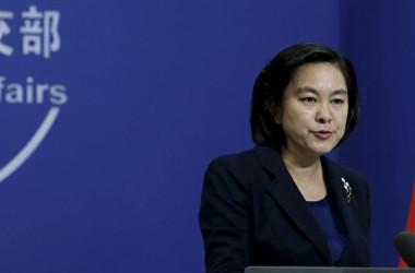 中国外交部の華春瑩報道官。(大紀元資料室)