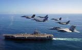 アメリカ海軍のニミッツ級航空母艦6番艦ジョージ・ワシントン (USS George Washington CVN-73公式Facebook写真)