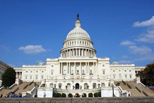米国上院は2月28日、米国全レベルの高官の台湾訪問許可を盛り込んだ『台湾旅行法(Taiwan Travel Act)」を全会一致で可決した。写真はアメリカ合衆国議会議事堂。(Stefan Zaklin/Getty Images)