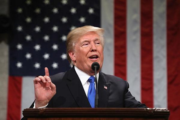 トランプ大統領(WIN MCNAMEE/AFP/Getty Images)