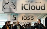 アップル社は中国でのiCloudサービス運営を中国政府傘下企業に移行した。(Justin Sullivan/Getty Images)