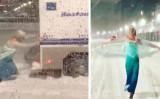 雪にタイヤを取られた車両を助ける「雪の女王エルザ」。動画再生回数は610万回を越えた(ChrisBHaynesさんfacebook、Jason TriplettさんInstagramより)