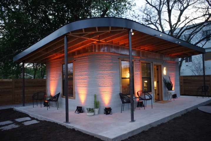 3Dプリントで24時間4000ドルで完成した住宅(NewStoryホームページより)