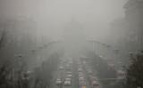 西安は中国国内でも大気汚染が深刻な地域だ 写真は2013年に撮影されたもの(VCG/VCG via Getty Images)